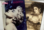 LIKE A VIRGIN & THE BEST OF MADONNA  - USA SHEET MUSIC BOOKS